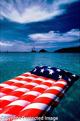 antiga,raft,flag
