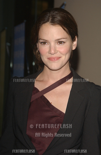 Actress JACINDA BARRETT at the 18th Annual American Cinematheque Gala honoring Nicole Kidman..November 14, 2003