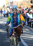 Charlie Abowd rides in the 79th Nevada Day parade in Carson City, Nev., on Saturday, Oct. 28, 2017. <br />
