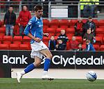 Cillian Sheridan rolls in goal no 2 for St Johnstone