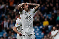 Real Madrid's Mariano Diaz during La Liga match between Real Madrid and SD Huesca at Santiago Bernabeu Stadium in Madrid, Spain. March 31, 2019. (ALTERPHOTOS/A. Perez Meca)<br /> Liga Campionato Spagna 2018/2019<br /> Foto Alterphotos / Insidefoto <br /> ITALY ONLY