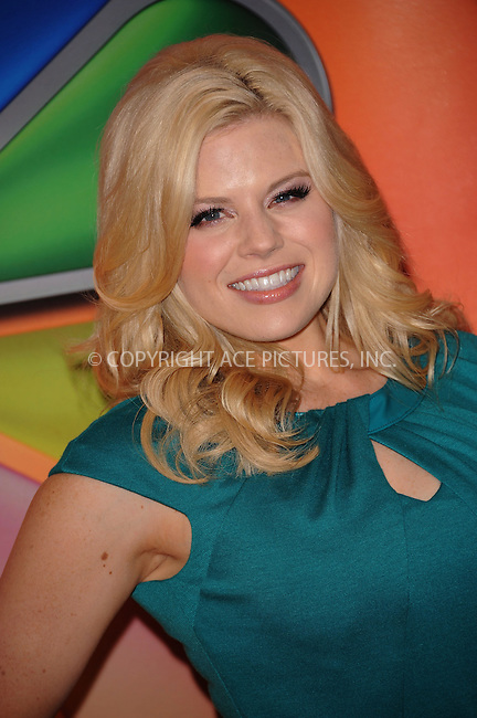 WWW.ACEPIXS.COM . . . . . ....May 14 2012, New York City....Megan Hilty at NBC's Upfront Presentation at Radio City Music Hall on May 14, 2012 in New York City. ....Please byline: KRISTIN CALLAHAN - ACEPIXS.COM.. . . . . . ..Ace Pictures, Inc:  ..(212) 243-8787 or (646) 679 0430..e-mail: picturedesk@acepixs.com..web: http://www.acepixs.com