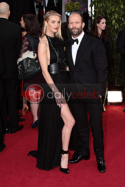 Rosie Huntington-Whiteley, Jason Statham<br />