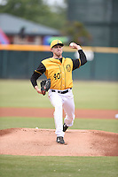 ***Temporary Unedited Reference File***Jacksonville Suns starting pitcher Chris Reed (40) during a game against the Mississippi Braves on May 1, 2016 at The Baseball Grounds in Jacksonville, Florida.  Jacksonville defeated Mississippi 3-1.  (Mike Janes/Four Seam Images)