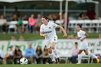Washington Spirit midfielder Diana Matheson (8). Sky Blue FC defeated the Washington Spirit 1-0 during a National Women's Soccer League (NWSL) match at Yurcak Field in Piscataway, NJ, on August 3, 2013.