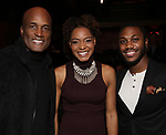 Kenny Leon, Margarette O'Dette, Brayden Simpson during The Third Annual SDCF Awards at The The Laurie Beechman Theater on November 12, 2019 in New York City.