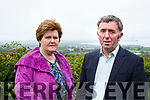 North Kerry Farmer Michael O'Connor and his wife Trisha who had 11 cows stolen from his Farm near Glin.