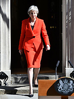 MAY 24 Prime Minister Theresa May announces date of her resignation