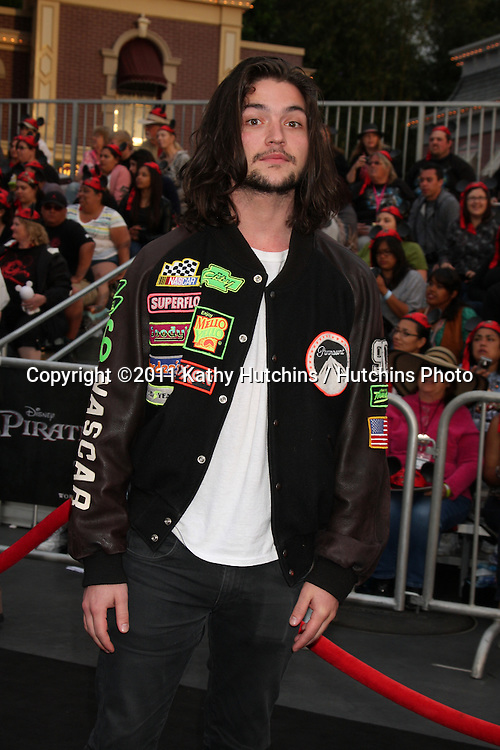 """LOS ANGELES - MAY 7:  Thomas McDonell arriving at the """"Pirates of The Caribbean: On Stranger Tides"""" World Premiere at Disneyland on May 7, 2011 in Anaheim, CA"""