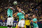 05.11.2019, Signal Iduna Park, Dortmund , GER, Champions League, Gruppenphase, Borussia Dortmund vs Inter Mailand, UEFA REGULATIONS PROHIBIT ANY USE OF PHOTOGRAPHS AS IMAGE SEQUENCES AND/OR QUASI-VIDEO<br /> <br /> im Bild | picture shows:<br /> Kopfball, Kopfballduell zwischen Mats Hummels (Borussia Dortmund #15) und Milan Skriniar (Inter #37), <br /> <br /> Foto © nordphoto / Rauch