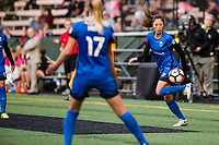 Seattle, WA - Sunday, August 13, 2017: Rumi Utsugi during a regular season National Women's Soccer League (NWSL) match between the Seattle Reign FC and the North Carolina Courage at Memorial Stadium.