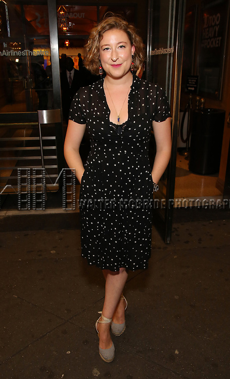 Sophie Von Haselberg attends the Broadway Opening Night performance of The Roundabout Theatre Company production of 'Time and The Conways'  on October 10, 2017 at the American Airlines Theatre in New York City.