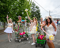 Fremont Solstice Parade & Festival, Seattle, WA, USA.