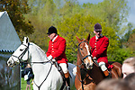 Badminton, Gloucestershire, United Kingdom, 4th May 2019, Beaufort Huntsmen during the Cross Country Phase of the 2019 Mitsubishi Motors Badminton Horse Trials, Credit:Jonathan Clarke/JPC Images