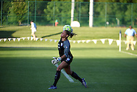 Kansas City, MO - Saturday May 28, 2016: Orlando Pride goalkeeper Aubrey Bledsoe (19). FC Kansas City defeated Orlando Pride 2-0 during a regular season National Women's Soccer League (NWSL) match at Swope Soccer Village.