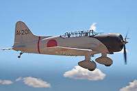 "The Aichi D3A (Allied code name ""Val"")was a World War II dive bomber produced by the Aichi company in Japan. It was the primary carrier-borne dive bomber in the Imperial Japanese Navy in the early stages of the war, and participated in almost all actions, including Pearl Harbor."