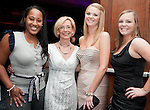 Carrie Potter (3rd from left) at the Houston Area Women's Center 2011 Gala with Joan Rivers