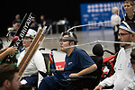 Jamie McCowan (GBR)<br /> BISFed 2018 World Boccia Championships <br /> Exhibition Centre Liverpool<br /> 17.08.18<br /> ©Steve Pope<br /> Sportingwales