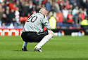 12/04/2008    Copyright Pic: James Stewart.File Name : sct_jspa31_qots_v_aberdeen.DEREK SOUTAR IS DEJECTED AT THE END OF THE GAME.James Stewart Photo Agency 19 Carronlea Drive, Falkirk. FK2 8DN      Vat Reg No. 607 6932 25.Studio      : +44 (0)1324 611191 .Mobile      : +44 (0)7721 416997.E-mail  :  jim@jspa.co.uk.If you require further information then contact Jim Stewart on any of the numbers above........