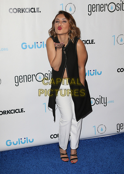 BEVERLY HILLS, CA - March 21: Francia Raisa, At Generosity.org Fundraiser For World Water Day At Montage Hotel In California on March 21, 2017. <br /> CAP/MPI/FS<br /> &copy;FS/MPI/Capital Pictures