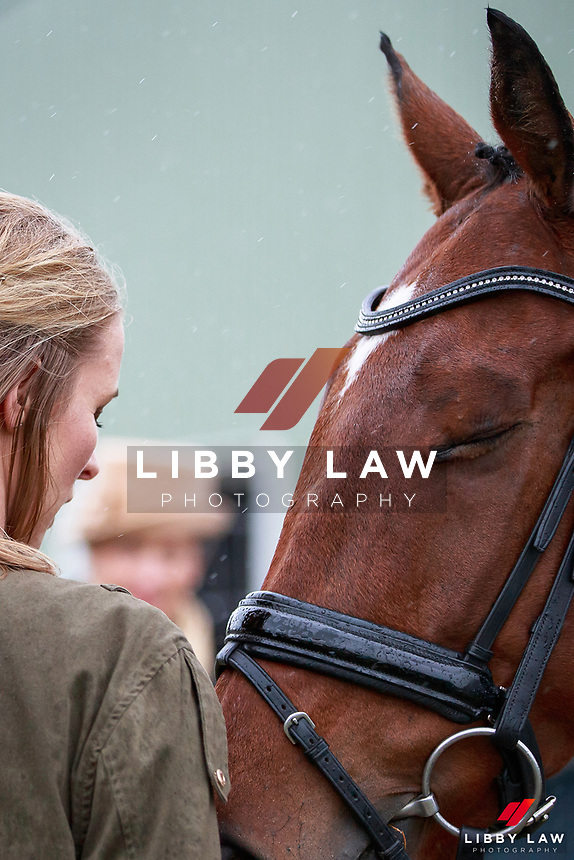 Brooke Campbell with Freddy Dash during the Bates CCI2* Championship 1st Horse Inspection at the 2017 NZL-NRM National Three Day Event Championships. National Equestrian Center, Taupo. Thursday 11 May. Copyright Photo: Libby Law Photography
