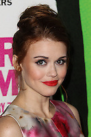 "LOS ANGELES, CA - FEBRUARY 04: Holland Roden at the Los Angeles Premiere Of The Weinstein Company's ""Vampire Academy"" held at Regal Cinemas L.A. Live on February 4, 2014 in Los Angeles, California. (Photo by Xavier Collin/Celebrity Monitor)"