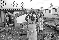 - Mozambique 1993, country hospital in Nhamatanda village, province of Sofala<br />
