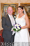 Deborah O'Connor, Killorglin, Daugher of Francis and Doreen O'Connor, and Gareth Jenkins, Dublin, son of Peter and Elizabeth Jenkins, were married at St. James's Church Killorglin by Fr. O'Brien on Saturday 26th April 2014 with a reception at Ballyroe Heights Hotel