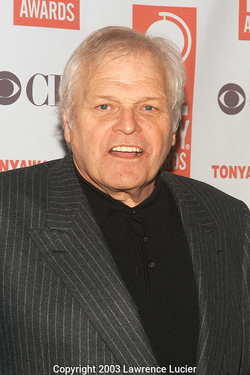 NEW YORK - MAY 14: Actor Brian Dennehy appears at the Tony Awards Nominee Luncheon May 14, 2003, at the Marriot Marquis in New York City.