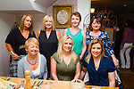 Attending an Easons reunion night out I'm Bella Bia, Tralee on Saturday night were front l-r: Tracey Benner, Sabrina O'Reilly and Amy McGillicuddy. Back l-r: Chris Barry, Ann Hayes, Kay O'Connor and Mary O'Sullivan.
