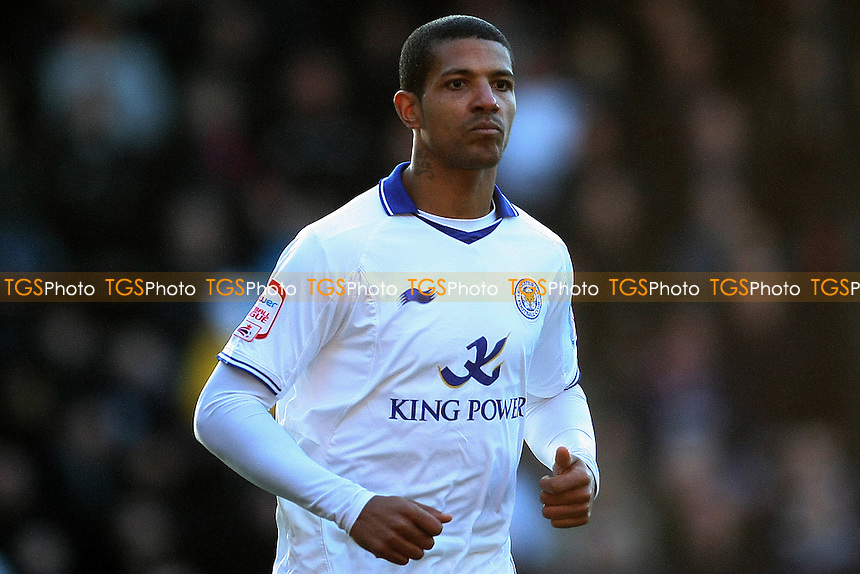 Jermaine Beckford (Leicester City) - Crystal Palace vs Leicester City - nPower Championship Football at Selhurst Park Stadium, London - 02/01/12 - MANDATORY CREDIT: George Phillipou/TGSPHOTO - Self billing applies where appropriate - 0845 094 6026 - contact@tgsphoto.co.uk - NO UNPAID USE.
