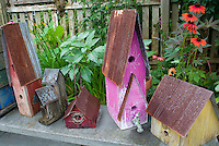 Charming bird houses, variety assorted