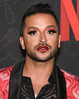 "10 January 2020 - Beverly Hills, California - Jai Rodriguez. Netflix's ""AJ And The Queen"" Season 1 Premiere at The Egyptian Theatre in Hollywood. Photo Credit: Billy Bennight/AdMedia"