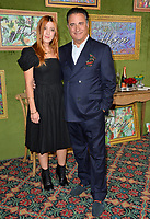 "LOS ANGELES, CA. October 04, 2018: Andy Garcia & Daniella Garcia-Lorido at the Los Angeles premiere for ""My Dinner With Herve"" at Paramount Studios.<br /> Picture: Paul Smith/Featureflash"
