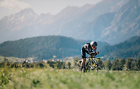 Georgia Williams (NZL/Mitchelton-Scott)<br /> <br /> WOMEN ELITE INDIVIDUAL TIME TRIAL<br /> Hall-Wattens to Innsbruck: 27.8 km<br /> <br /> UCI 2018 Road World Championships<br /> Innsbruck - Tirol / Austria