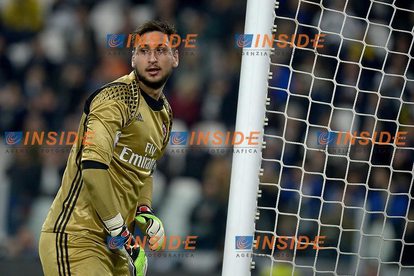 Gianluigi Donnarumma Milan <br /> Torino 10-03-2017, Juventus Stadium, Football Calcio 2016/2017 Serie A, Juventus - Milan, Foto Filippo Alfero/Insidefoto