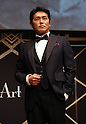 "May 20, 2016, Tokyo, Japan - Japanese actor Katsunori Takahashi poses as he attends the opening ceremony of ""Aperitif 365"" event in Tokyo on Friday, May 20, 2016. Thousands of visitors are expecting to enjoy aperitifs and hors d'oeuvres at the three-day event for the promotion of French foods and drinks.  (Photo by Yoshio Tsunoda/AFLO) LWX -ytd-"