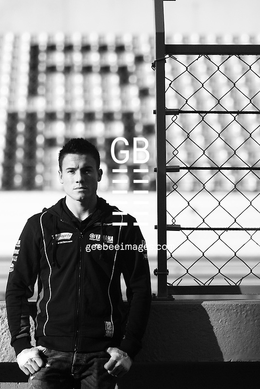2010 Superbike World Championship, Test, Portimao, Portugal, 24 January 2010, James Toseland (GBR), 52, Yamaha