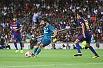 Supercopa de Espa&ntilde;a - Ida.<br /> FC Barcelona vs R. Madrid: 1-3.<br /> Isco vs Sergio Busquets.