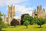 Cathedral church at Ely, Cambridgeshire, England, UK
