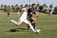 2009 US Soccer Academy Showcase Finals at Home Depot Center in Carson, California  July 14, 2009. .