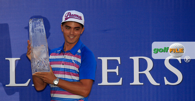 Rickie FOWLER (USA) winner of The Players, TPC Sawgrass, Ponte Vedra Beach, Florida, United States. 10/05/2015<br /> Picture Fran Caffrey, www.golffile.ie