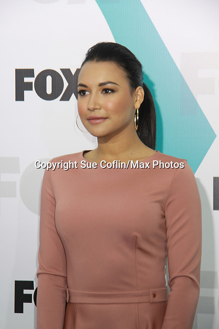 "Glee's Naya Rivera ""Santana Lopez"" at The Fox 2012 Programming Presentation on May 14, 2012 at Wollman Rink, Central Park, New York City, New York. (Photo by Sue Coflin/Max Photos) 917-647-8403"