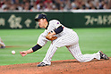 Kazuhisa Makita (JPN), <br /> MARCH 14, 2017 - WBC : <br /> 2017 World Baseball Classic <br /> Second Round Pool E Game <br /> between Japan 8-5 Cuba <br /> at Tokyo Dome in Tokyo, Japan. <br /> (Photo by YUTAKA/AFLO SPORT)