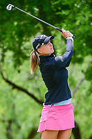 Perrine Delacour (FRA) watches her tee shot on 13 during round 1 of  the Volunteers of America Texas Shootout Presented by JTBC, at the Las Colinas Country Club in Irving, Texas, USA. 4/27/2017.<br /> Picture: Golffile | Ken Murray<br /> <br /> <br /> All photo usage must carry mandatory copyright credit (&copy; Golffile | Ken Murray)
