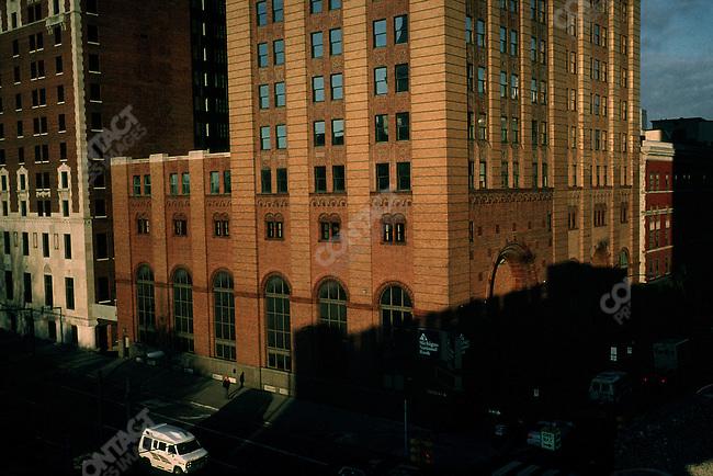 Downtown Lansing, Michigan, USA, February 2001