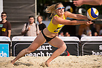08.05.2015, Muenster, Schlossplatz<br /> smart beach tour, Supercup MŸnster / Muenster, Qualifikation<br /> <br /> Abwehr Lisa Arnholdt<br /> <br />   Foto &copy; nordphoto / Kurth