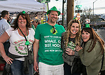 Party goers on St. Patrick's Day in Reno on Friday, March 17, 2017.