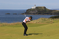 Thomas Pieters (BEL) on the 4th during Round 1 of the Aberdeen Standard Investments Scottish Open 2019 at The Renaissance Club, North Berwick, Scotland on Thursday 11th July 2019.<br /> Picture:  Thos Caffrey / Golffile<br /> <br /> All photos usage must carry mandatory copyright credit (© Golffile | Thos Caffrey)