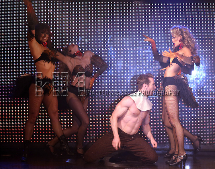 Broadway Bares: Winter Burlesque - Calendar Girl performance at XL Nightclub on January 26, 2014 in New York City.